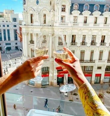 Travel experience photo in Madrid from Atravelgirl Blog