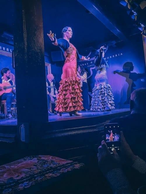 woman dancing in a flamengo show